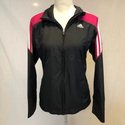 Adidas Jackets & Coats | Adidas Zip Up Jacket Size Small Track Jacket | Color: Blue/Pink | Size: S