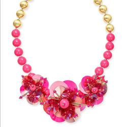 Kate Spade Jewelry   Kate Spade New York Necklace And Earring Set   Color: Gold/Pink   Size: 17