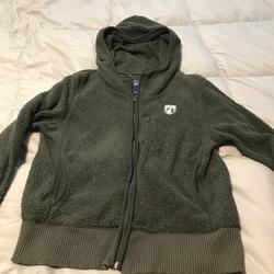 American Eagle Outfitters Tops   America Eagle Sweatshirt   Color: Green   Size: L