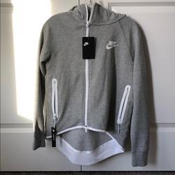 Nike Jackets & Coats | Nike Sportswear Tech Fleece Cape Jacket | Color: Gray | Size: Xs