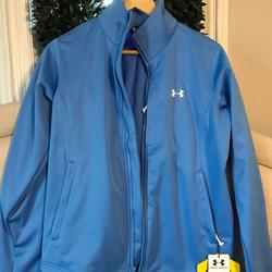 Under Armour Jackets & Coats   Brand New Under Armor Womens Jacket   Color: Blue   Size: M
