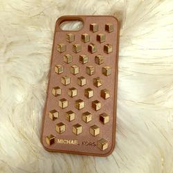 Michael Kors Accessories   Iphone 6 & 6s Cell Phone Case   Color: Gold/Tan   Size: Os