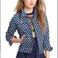 Kate Spade Jackets & Coats | Kate Spade Broome Street Denim Jacket | Color: Blue/White | Size: M