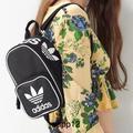 Adidas Bags | Adidasoriginal Black Mini Backpack | Color: Black/White | Size: 7.5x 10 X 4.5