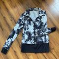 Lululemon Athletica Jackets & Coats   Lululemon Zip Front Jacket Size 6   Color: Black/White   Size: 6