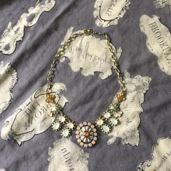 Anthropologie Jewelry | Anthropologie Necklace | Color: Pink/Silver | Size: Os