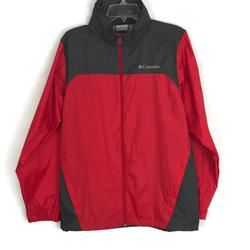 Columbia Jackets & Coats | Columbia Womens Jacket Size Small Red Rain Jacket | Color: Gray/Red | Size: S