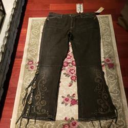 Ralph Lauren Jeans | Lauren Jeans Ralph Lauren Regent Street Jeans | Color: Black | Size: 12