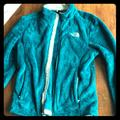 The North Face Jackets & Coats | Fuzzy North Face Jacket Very Lightly Worn | Color: Green | Size: M