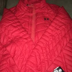 Under Armour Jackets & Coats | Brand New Mens Under Armour Jacket W Tags- Xxl | Color: Red | Size: Xxl