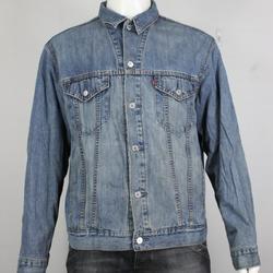 Levi's Jackets & Coats   Levis Denim Jean Trucker Jacket L Blanket Lined Bl   Color: Blue   Size: L