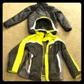 The North Face Jackets & Coats | Boys Garcon (Boundary Triclimate) Size 1820 | Color: Gray/Yellow | Size: Xlb