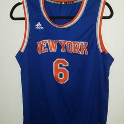 Adidas Other | Mens New York Knicks Jersey | Color: Blue/Orange | Size: Xl