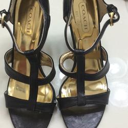 Coach Shoes | Coach Shoe New Never Worn Padded Gold Insole | Color: Black | Size: 7.5