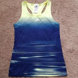 Adidas Shirts & Tops   Adidas Youth Fitness Tank Top Blue Yellow   Color: Blue/Yellow   Size: Mb