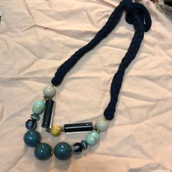 Anthropologie Jewelry   Anthropologie Necklace   Color: Blue   Size: 13 Long.