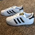 Adidas Shoes | Adidas Mens Superstar Shoe | Color: Black/White | Size: 7