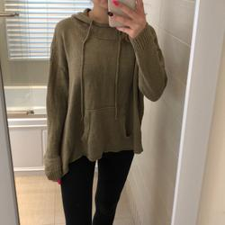 American Eagle Outfitters Tops | American Eagle Sweatshirt | Color: Black | Size: One Size