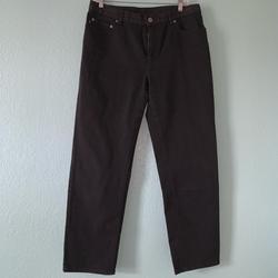 Ralph Lauren Jeans   Lauren Ralph Lauren Black Jeans Classic Fit   Color: Black   Size: 12