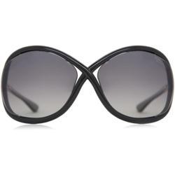 Ft0009 Whitney Polarized 01d Women's Sunglasses - Black - Tom Ford Sunglasses