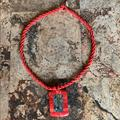 Anthropologie Jewelry   Anthropologie Red Coral Shell Necklace   Color: Blue/Red   Size: 19