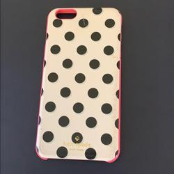 Kate Spade Other | Kate Spade Iphone 6 Plus Phone Case | Color: Black/Pink | Size: Iphone 6 Plus