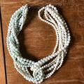 Anthropologie Jewelry   Anthropologie Necklace   Color: Blue/White   Size: Os