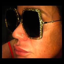 Gucci Accessories   Authentic Gucci Hollywood Oversized Shades !   Color: Gold   Size: Oversized Frame