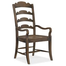 Hooker Furniture Hill Country Arm Chair Wood in Brown, Size 45.0 H x 23.5 W x 27.0 D in | Wayfair 5960-75300-BRN