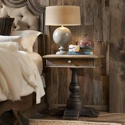 Hooker Furniture Hill Country Kirby 1 Drawer Nightstand Wood in Black/Brown, Size 29.75 H x 26.0 W x 26.0 D in | Wayfair 5960-90015-MULTI