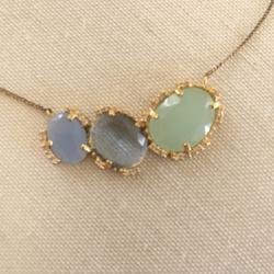 Anthropologie Jewelry | Lovely Anthropologie Necklace | Color: Blue/Green | Size: Adjustable