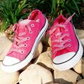 Converse Shoes | Converse Metallic All Stars Like New! | Color: Pink/White | Size: 5