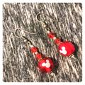 Disney Jewelry   Disney Earrings Mickey Mouse   Color: Red   Size: Os
