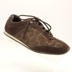 Coach Shoes | Coach Kelbie Casual Shoes Brown Jacquard Sneaker | Color: Brown | Size: 6.5