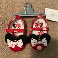 Disney Shoes   Minnie Mouse Shoes   Color: Red   Size: 0bb