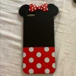 Disney Accessories | Disney Iphone 6s Plus Case | Color: Black/Red | Size: 6s Plus