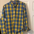 American Eagle Outfitters Shirts   Mens American Eagle Shirt Xs   Color: Blue/Gold   Size: Xs