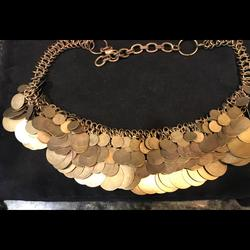 Anthropologie Jewelry   Anthropologie Cleopatra Style Necklace   Color: Tan   Size: 21