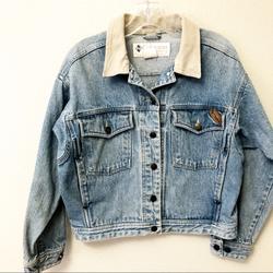 Columbia Jackets & Coats | Columbia Vintage Jean Crop Jacket M | Color: Blue | Size: M