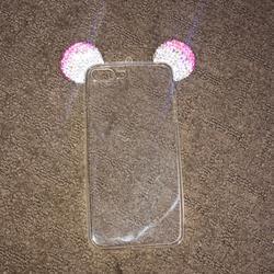Disney Accessories   Disney Iphone 8 Plus Case   Color: Pink/Silver   Size: 8 Plus