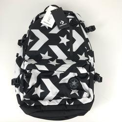 Converse Bags | Converse Black & White Logo Backpack Laptop Bottle | Color: Black/White | Size: Os