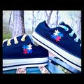 Converse Shoes | Converse All-Star Autism Awareness Shoe | Color: Black/Yellow | Size: Various