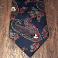 Disney Accessories | Classy Mickey Mouse Paisley Disney Tie | Color: Blue | Size: Os