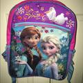 Disney Accessories | Disney Frozen Girls Backpack | Color: Pink/Purple | Size: Osg