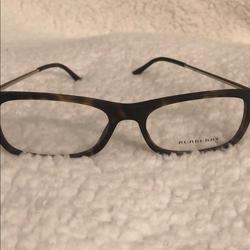 Burberry Accessories   Brand New Burberry Rx Glasses Tortoise Matte   Color: Brown/Gold   Size: 53-17-145