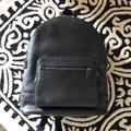 Coach Bags | Coach Leather Backpack | Color: Black | Size: 16 High X 13 Long X 6 Wide