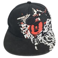 Disney Accessories   Disney Parks Mickey Mouse Youth Size Baseball Hat   Color: Black/Red   Size: Osb