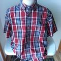 Carhartt Shirts | Carhartt Relaxed Red, White, Navy Shirt - Mens Xl | Color: Blue/Red | Size: Xl
