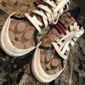 Coach Shoes | Coach Tennis Shoes | Color: Blue/Brown | Size: 8.5