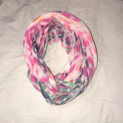 American Eagle Outfitters Accessories | Multicolored American Eagle Scarf | Color: Pink/White | Size: Os